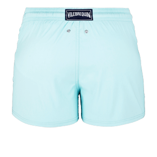 Men Short classic Solid - Men Short and Fitted Stretch Swimwear Solid, Lagoon back