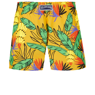 Niñas Autros Estampado - Girls Swim Short Go Bananas, Curry back