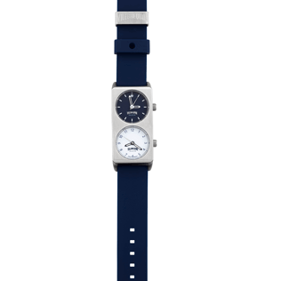 050 Solid - Dual Time Watch, Navy front