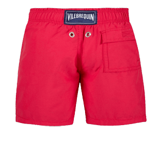 Boys Others Printed - Boys Water-reactive swimtrunks Tulum, Gooseberry red back