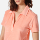 Women Others Solid - Women Terry cloth Polo Shirt Solid, Blush supp1