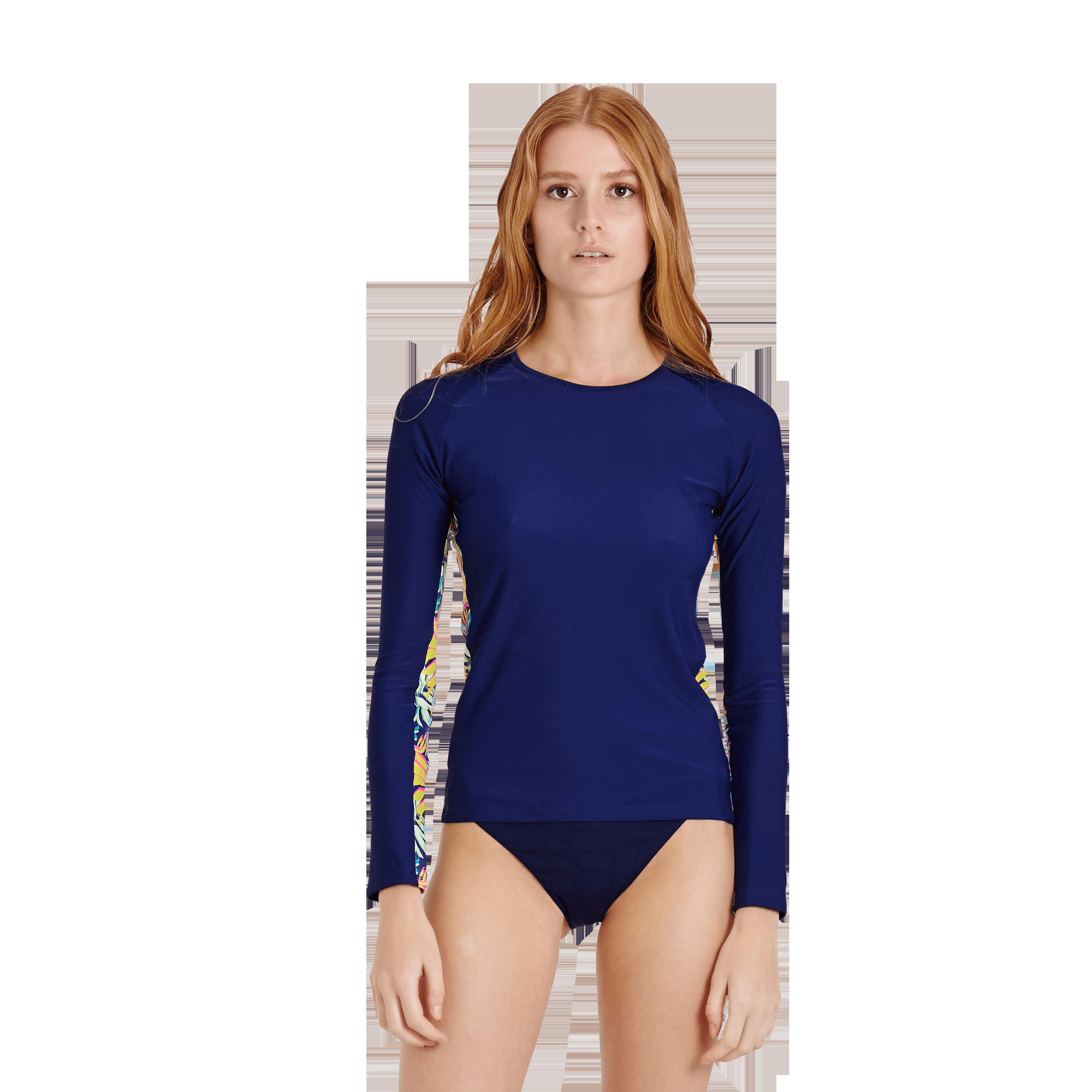 Vilebrequin Women T-shirt Jungle In Blue