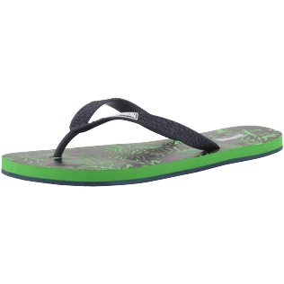 Men Others Printed - Men Flip Flops Madrague, Grass green back