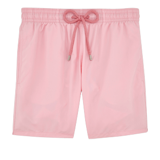 Men Classic Solid - Men Swimwear Solid, Hibiscus front