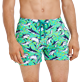 Men Stretch classic Printed - Men Swim Trunks Stretch Sharks - Web Exclusive, Veronese green supp1