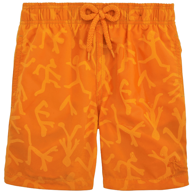 Vilebrequin - Water-reactive Danse du feu Swim Shorts - 4