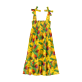 Girls Others Printed - Girls Dress Go Bananas, Curry front