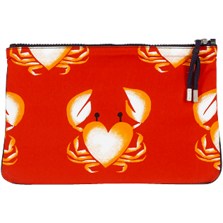 Altri Stampato - Zipped Beach Pouch St Valentine 2020, Medicis red back