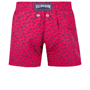 Boys Others Printed - Boys Swimwear Micro ronde des tortues, Gooseberry red back