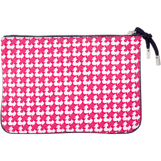 Bags Estampado - Funda con cremallera y estampado Baby Trop', Shocking pink back