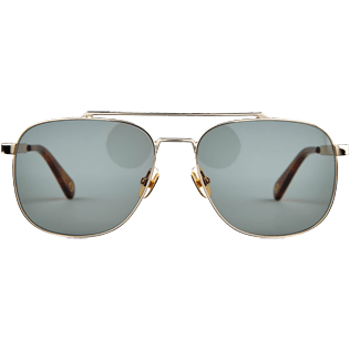 Others Solid - Unisex Sunglasses Khaki Mono Auto, Dore front