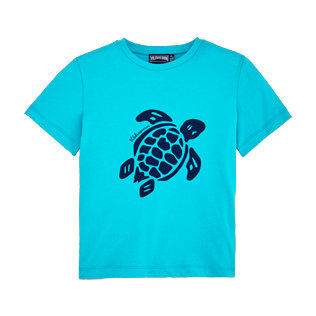 Boys Tee-Shirts Printed - Boys Cotton Jersey T-shirt Solid, Curacao front