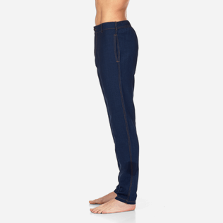 Men Others Solid - Indigo Pants, Indigo supp3