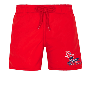 Boys Others Embroidered - Boys Swimwear The Year Of The Pig, Medicis red front