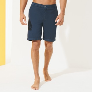 Men Others Solid - Men Jogging Gabardine Bermuda Shorts, Navy supp6
