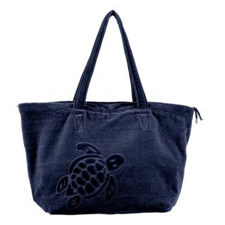 Others Solid - Large Beach Bag Solid, Navy front