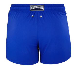 Men Short classic Solid - Men Short and Fitted Stretch Swimwear Solid, Neptune blue back