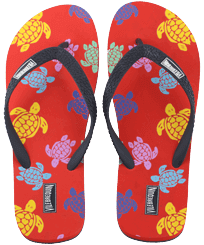 Men Others Printed - Men Flip Flops Tortues Multicolores, Medlar front