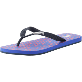 Men Others Printed - Men Flip Flops Micro Turtles, Sea blue back