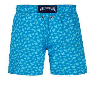 Boys Others Printed - Boys Swim Trunks Micro Ronde des Tortues, Hawaii blue back
