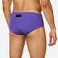 Men Swim brief and Boxer Solid - Men Fitted Swim Brief Solid, Hyacinth supp1