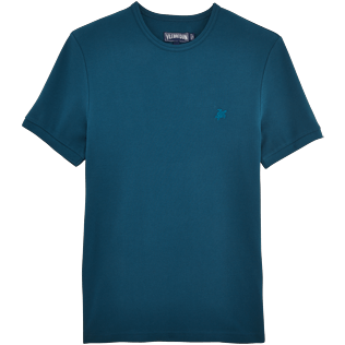 Men Tee-Shirts Solid - Cotton Piqué Solid Tee-Shirt, Spray front