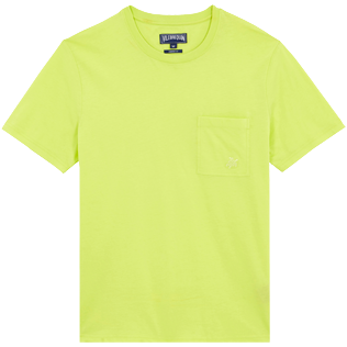 Men Others Solid - Men Organic Cotton T-Shirt Solid, Coriander front