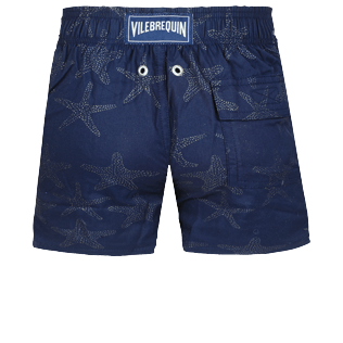 男童 Others 神奇 - Boys Swimwear Stretch Starfish Dance Diamond, Navy back