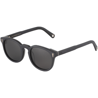 Others Solid - Unisex Sunglasses Bond Black, Black back