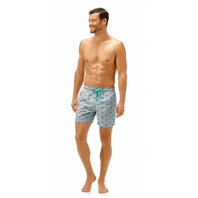 Vilebrequin - All Over Anchor Embroidery Swimwear - 3