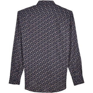 Shirts Printed - Micro Ronde des Tortues Cotton veil shirt, Navy back