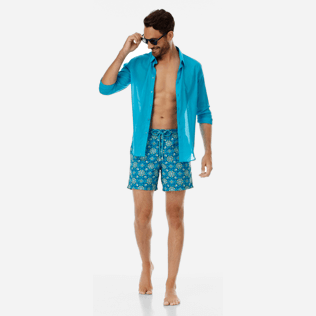 Men Embroidered Graphic - Men Embroidered swimtrunks Tanger - Limited Edition, Seychelles supp2