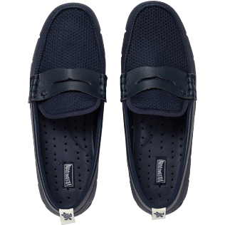 Men Others Printed - Men Shoes Solid Waterproof, Navy front