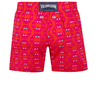 Boys Others Printed - Boys Swimwear Stretch Crabs, Medicis red back
