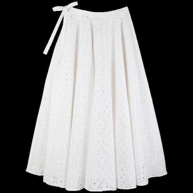 Vilebrequin - Jupe paréo longue en Coton Femme Broderies Anglaises - 1