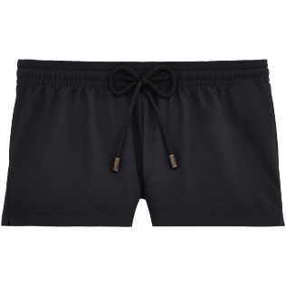 Women Shorties Solid - Solid Straight cut shortie, Black front