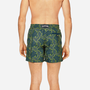 Men Embroidered Embroidered - Men Swimtrunks Embroidered Hypnotic Turtles - Limited Edition, Spray supp2