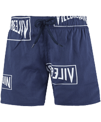 男童 Others 印制 - Boys Swimwear Stretch Vilebrequin labels, Navy front