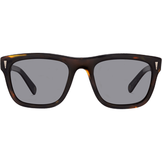 Sunglasses Solid - Polarised Smoke Sunglasses, Brown front