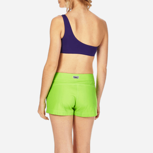 Women Shorties Solid - Women Stretch Swimwear fabric Shortie Solid, Wasabi supp2