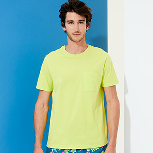 Men Others Solid - Men Organic Cotton T-Shirt Solid, Coriander supp3
