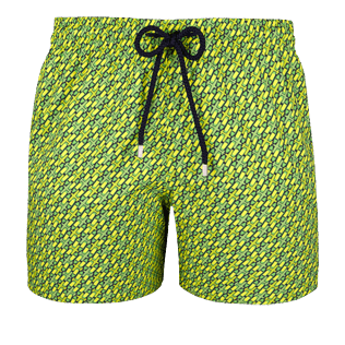 Men Stretch classic Printed - Men Stretch Swimwear St Barth, Cactus front