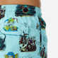 Men Classic Printed - Men swimtrunks Joker Queen, Aquamarine supp1
