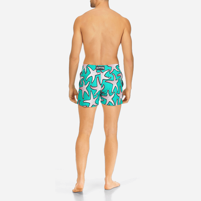Vilebrequin - Maillot de bain Homme Stretch Starfish Art - 4