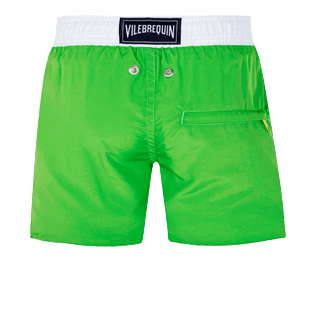 Boys Others Solid - Boys Swimwear Ultra-Light and Packable Solid Bicolor Fluo, Neon green back