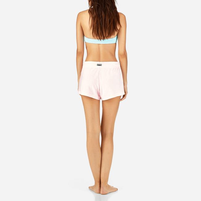 Vilebrequin - Pantalón corto en tejido terry liso para mujer - 4