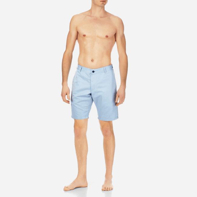 Vilebrequin - Men Straight Linen Cotton Bermuda Shorts Solid - 3