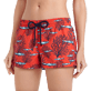 Women Others Printed - Women Swim Short Coral & Fish, Medicis red supp1