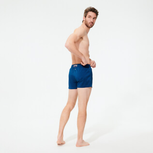Men Short classic Solid - Men Swimwear Short and Fitted Stretch Solid, Goa backworn