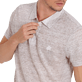 Men Others Solid - Men Linen Jersey Polo shirt Solid, Heather grey supp1